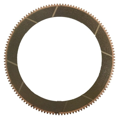 Placas de fricción sinterizada de bronce