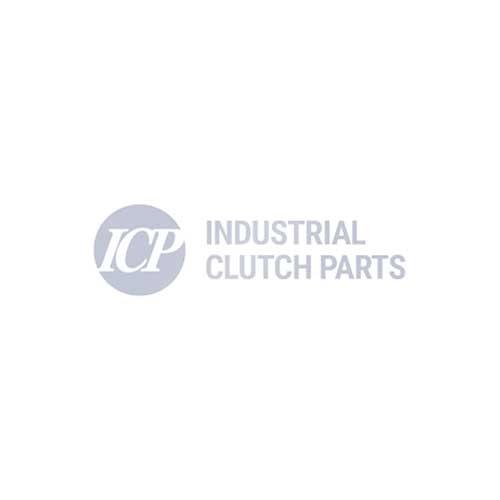 Almohadilla de freno ICP sustituye a Pintsch Bubenzer BAC 100 - 180 y BSC 160 Almohadilla de freno orgánica moldeada
